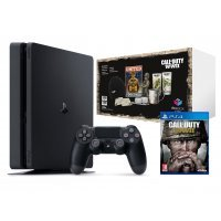 PlayStation 4 Slim 500GB + Call of Duty WWII + Big...